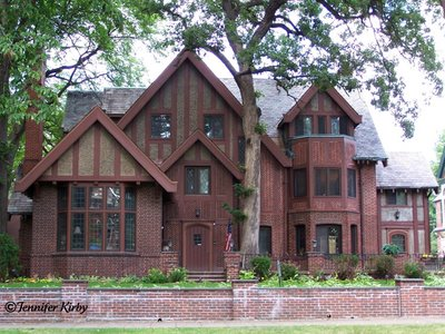 A Darker Version Of Tudor Revival On Summit Avenue In