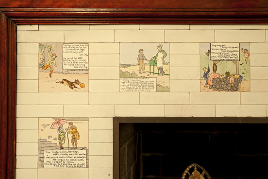 Historic Home Nursery Rhyme Tiles Historic Homes Of