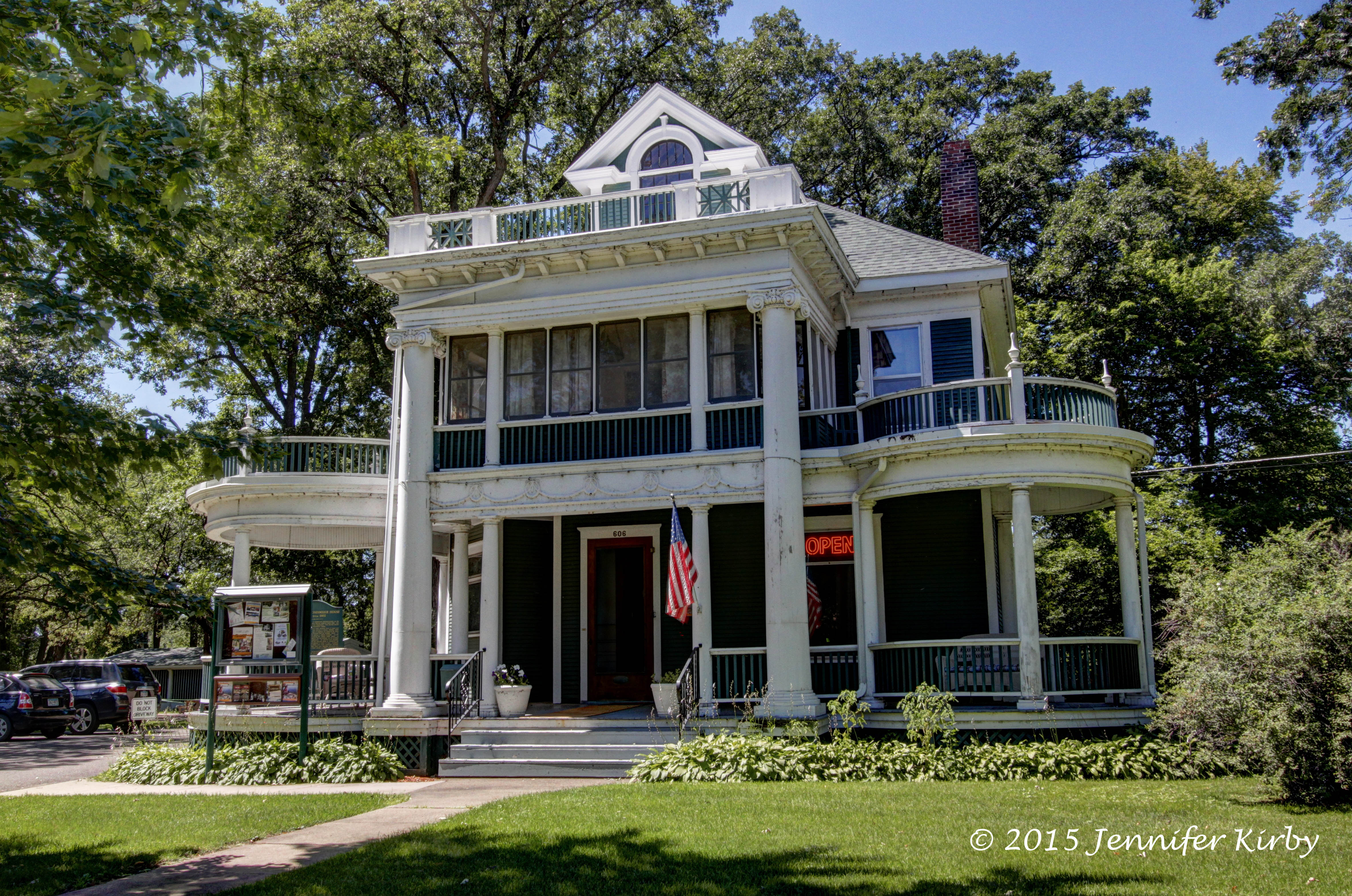 The burton rosenmeier house in little falls historic for Building a home in mn