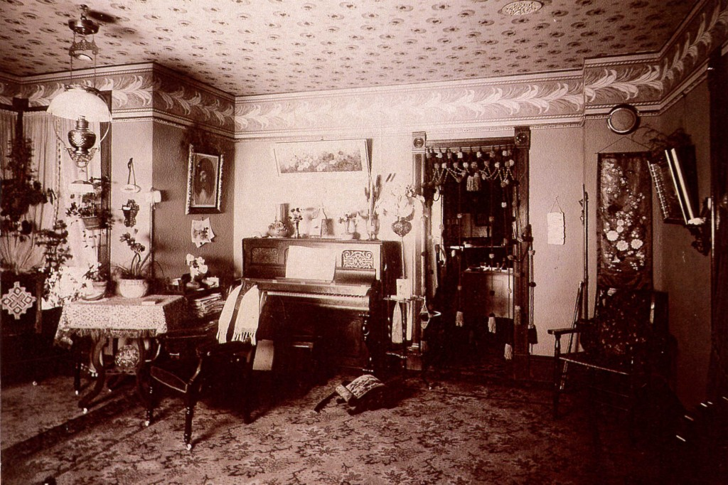 Living Room Around 1900