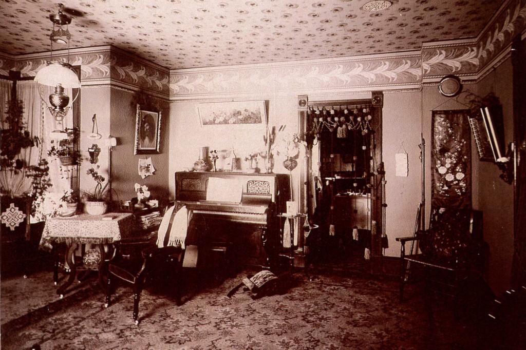 Living Room Around 1900