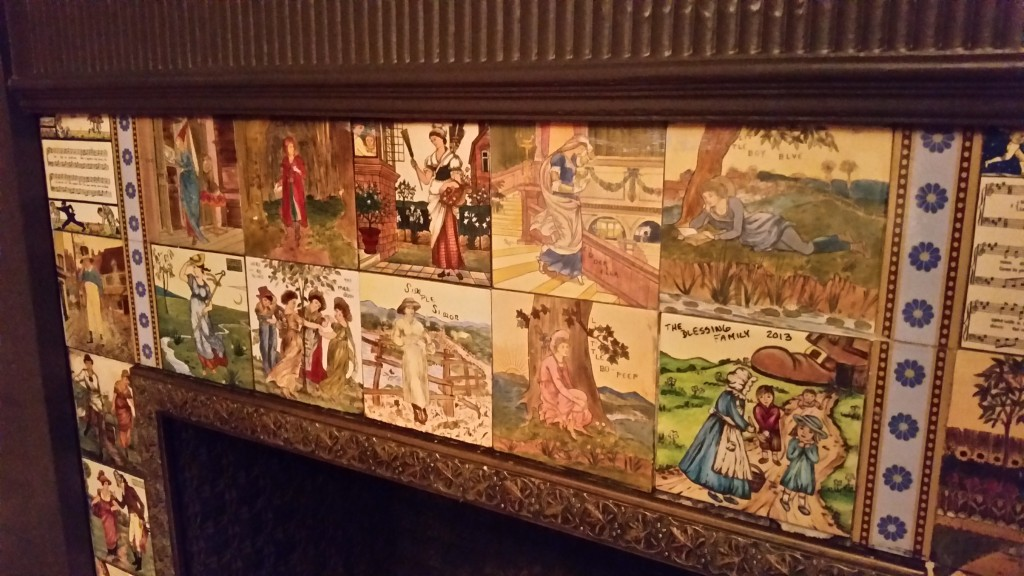 Nursery Rhyme Tile at New Victorian Bed and Breakfast