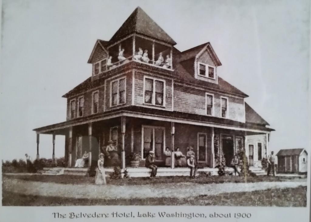 Belvedere Hotel Lake Washington