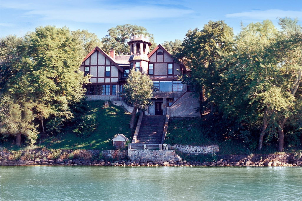 Spicer Castle on Green Lake
